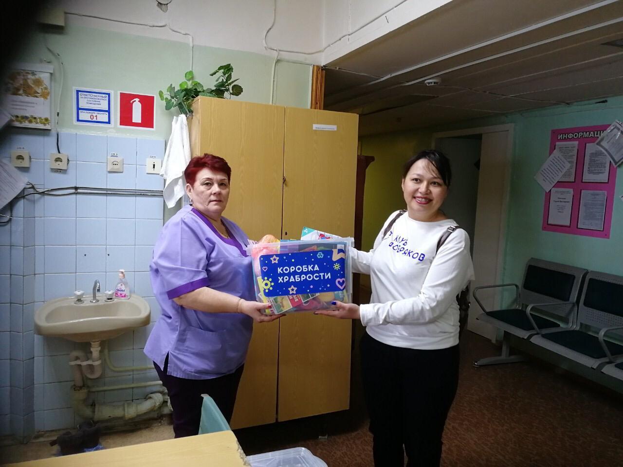 Еще одна коробка храбрости установлена в Ульяновске