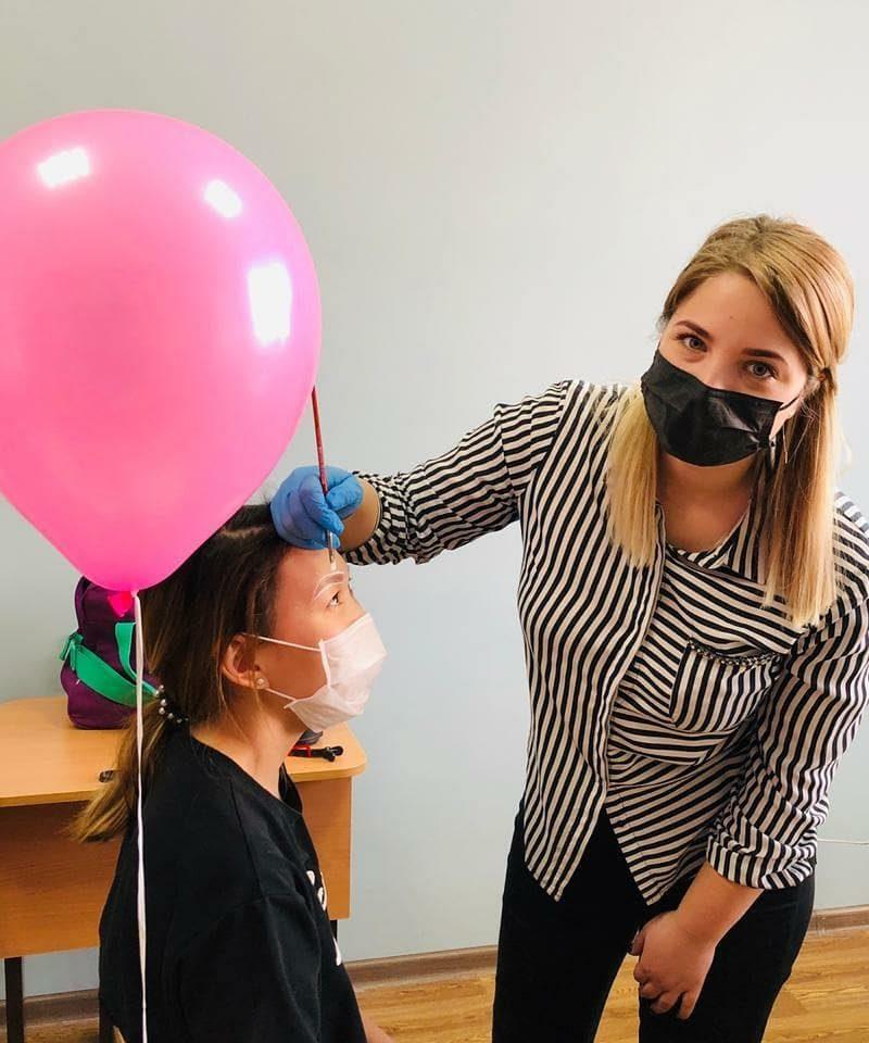 В Волгограде День красоты прошел в отделении детской онкологии