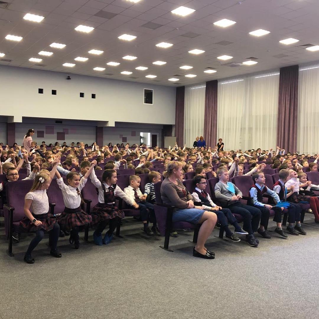 Неделя доброты в школе Краснодара