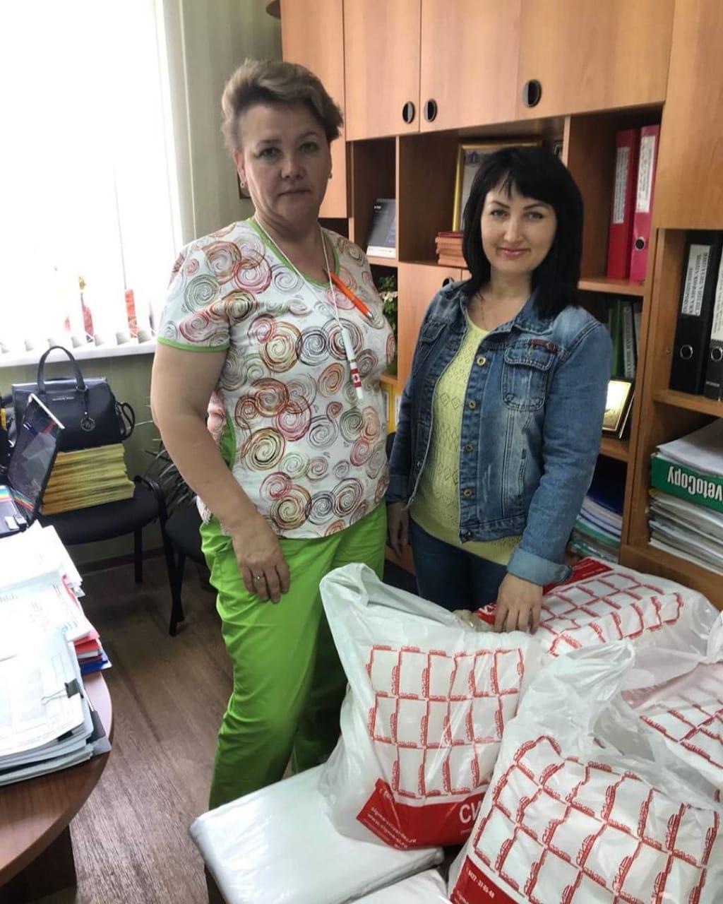 Клуб добряков закупил инвентарь для Ульяновской больницы