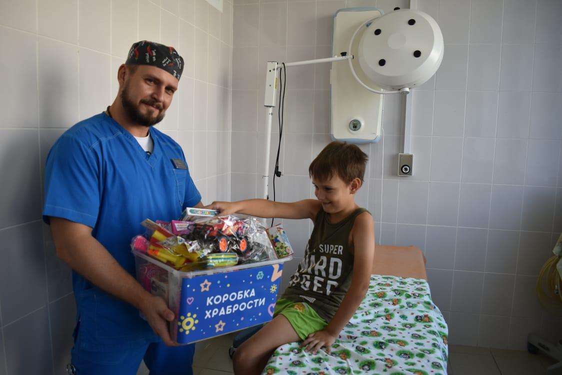 Коробка храбрости появилась в Астрахани