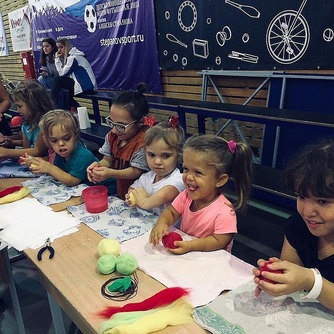 Добряки приняли участие в фестивале «Маленькие люди»