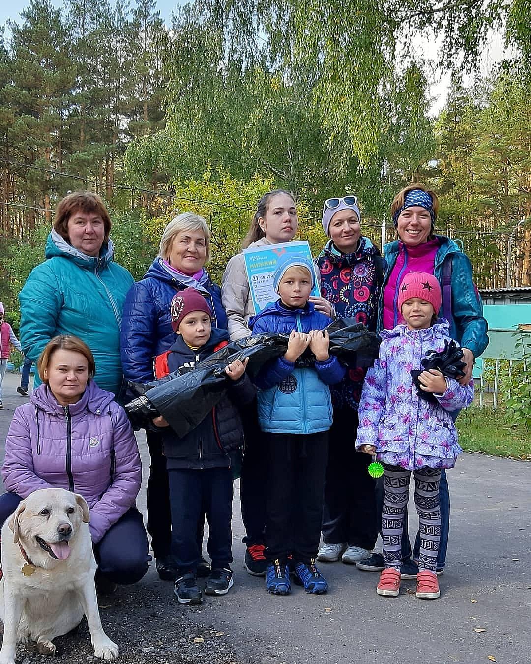 Нижегородские добряки приняли участие в субботнике