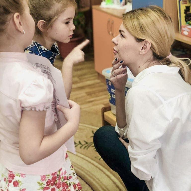 Волонтеры Челябинска провели первый урок доброты в детском саду