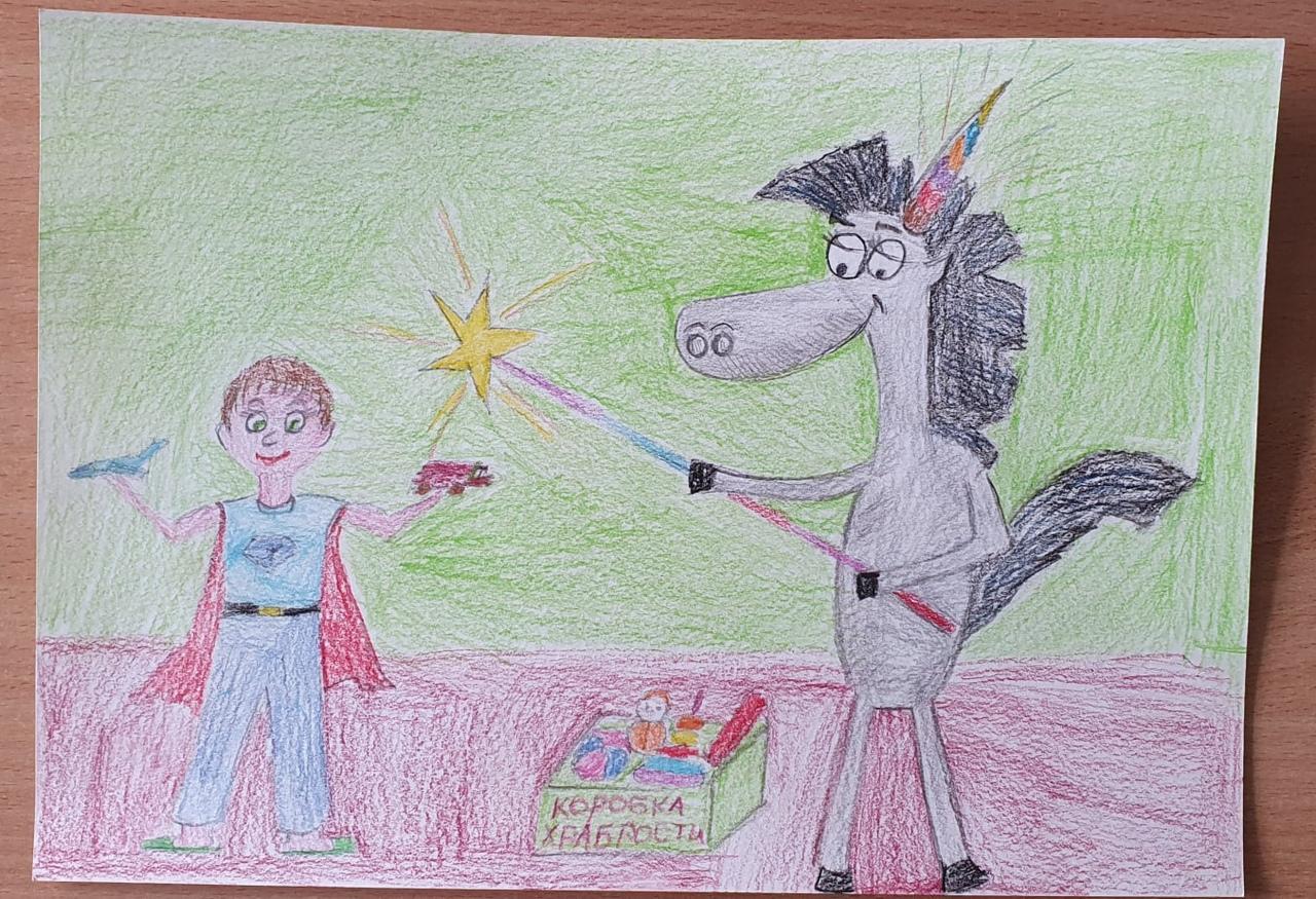 Добряки Ярославля провели конкурс рисунков