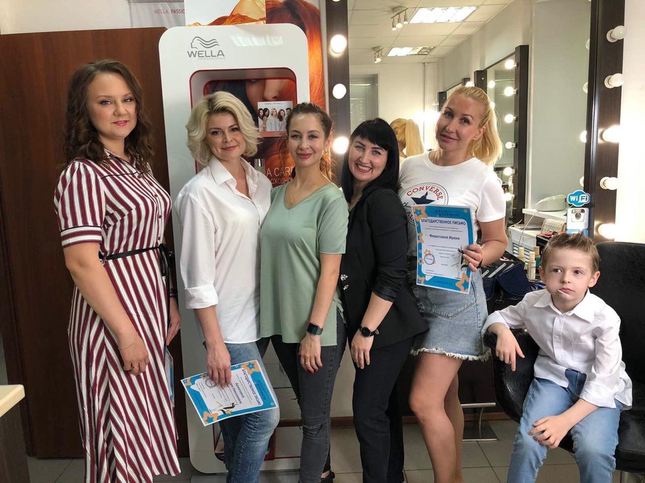 В Ульяновске прошел день красоты для кондитеров-волонтеров