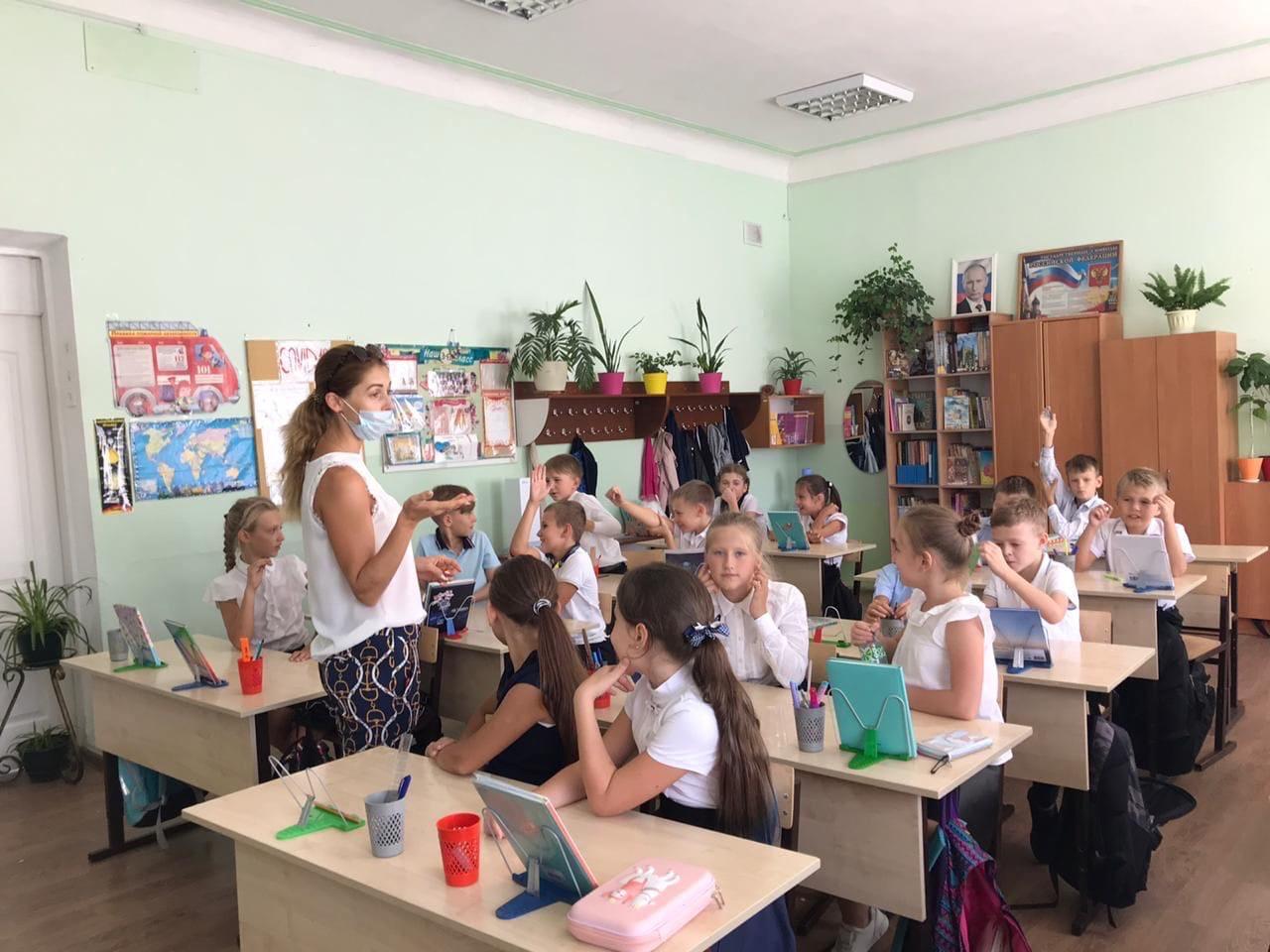 В Симферополе прошел первый в этом году урок доброты