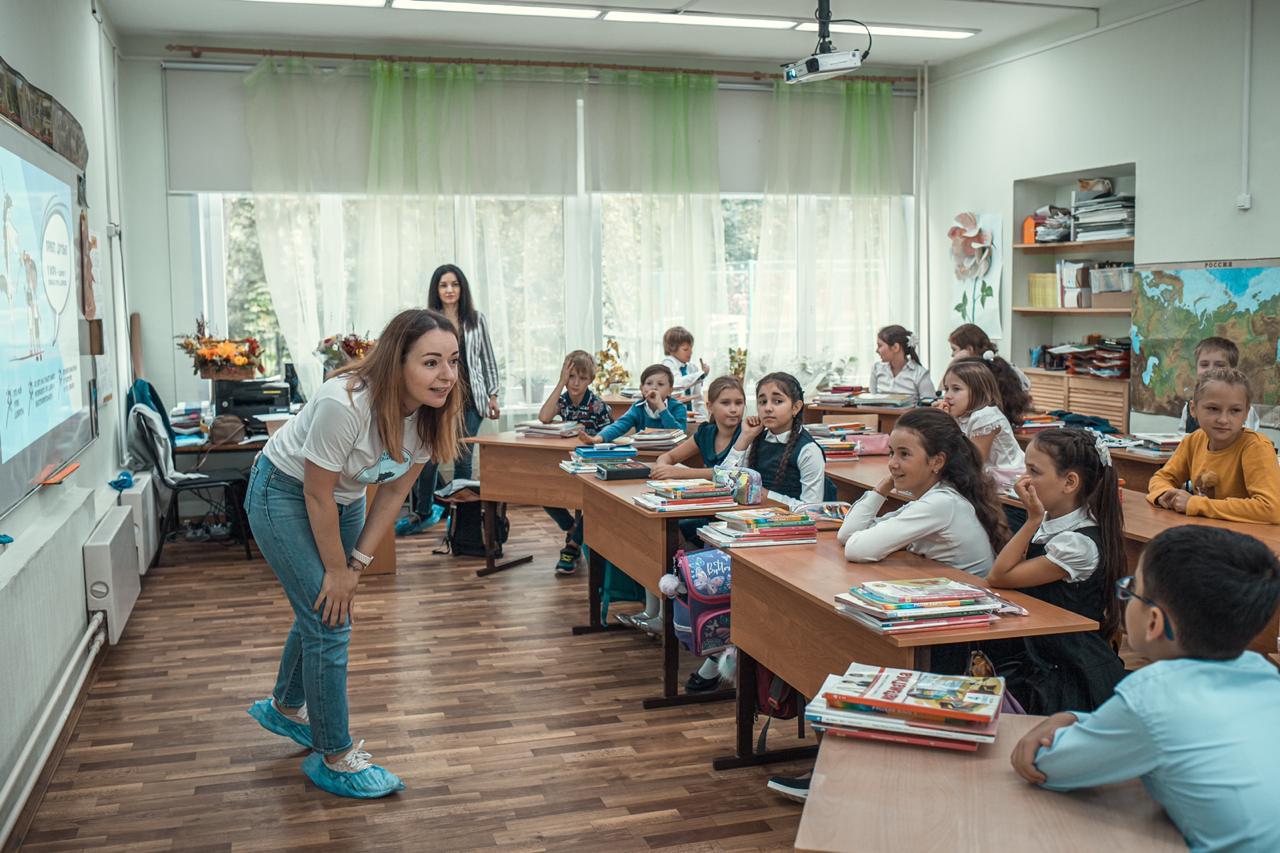 В Москве прошли первые в этом учебном году уроки доброты