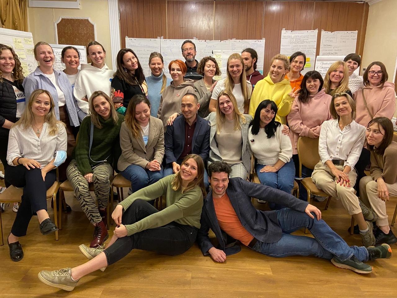 В Санкт-Петербурге прошла стратегическая сессия сотрудников Клуба добряков