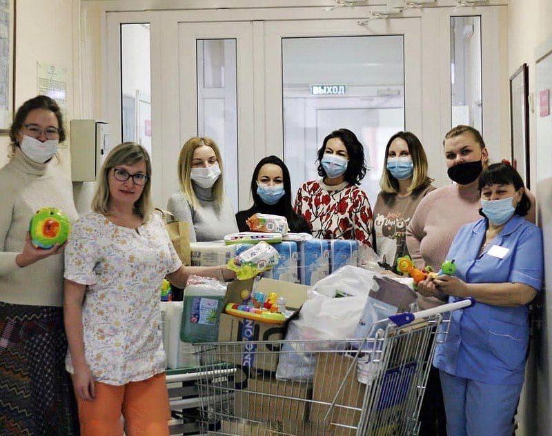 Добряки Кемерова собрали вещи для детского хосписа