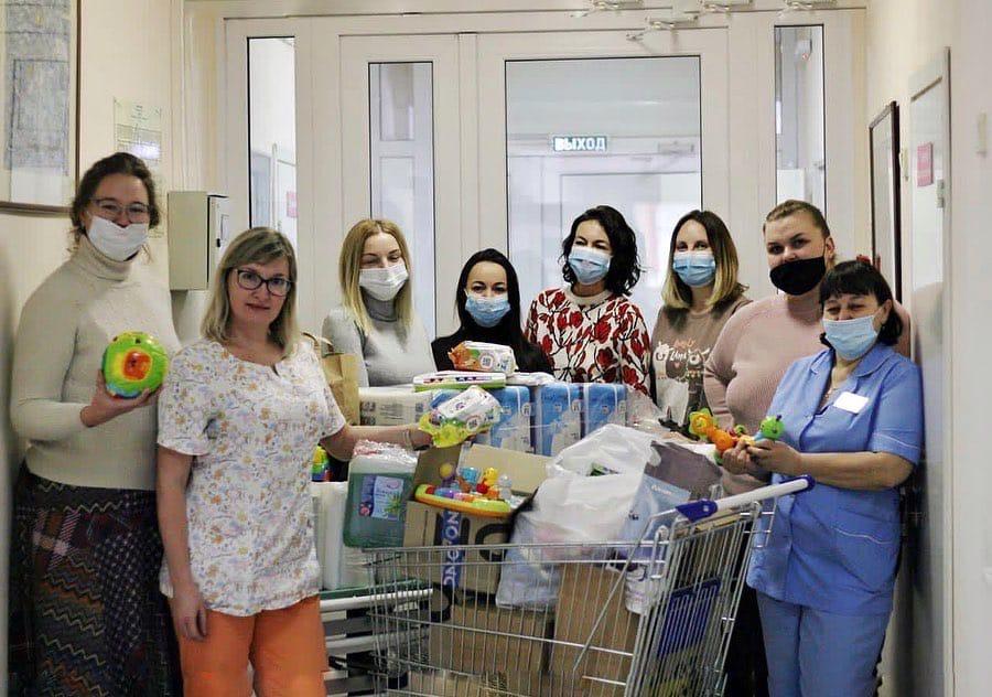 Добряки Кемерово собрали вещи для детского хосписа