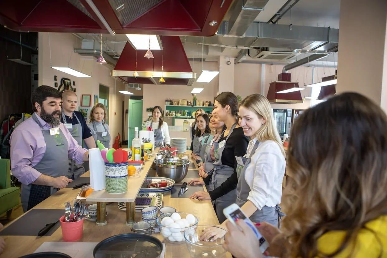 В Москве состоялся кулинарный тимбилдинг для волонтеров