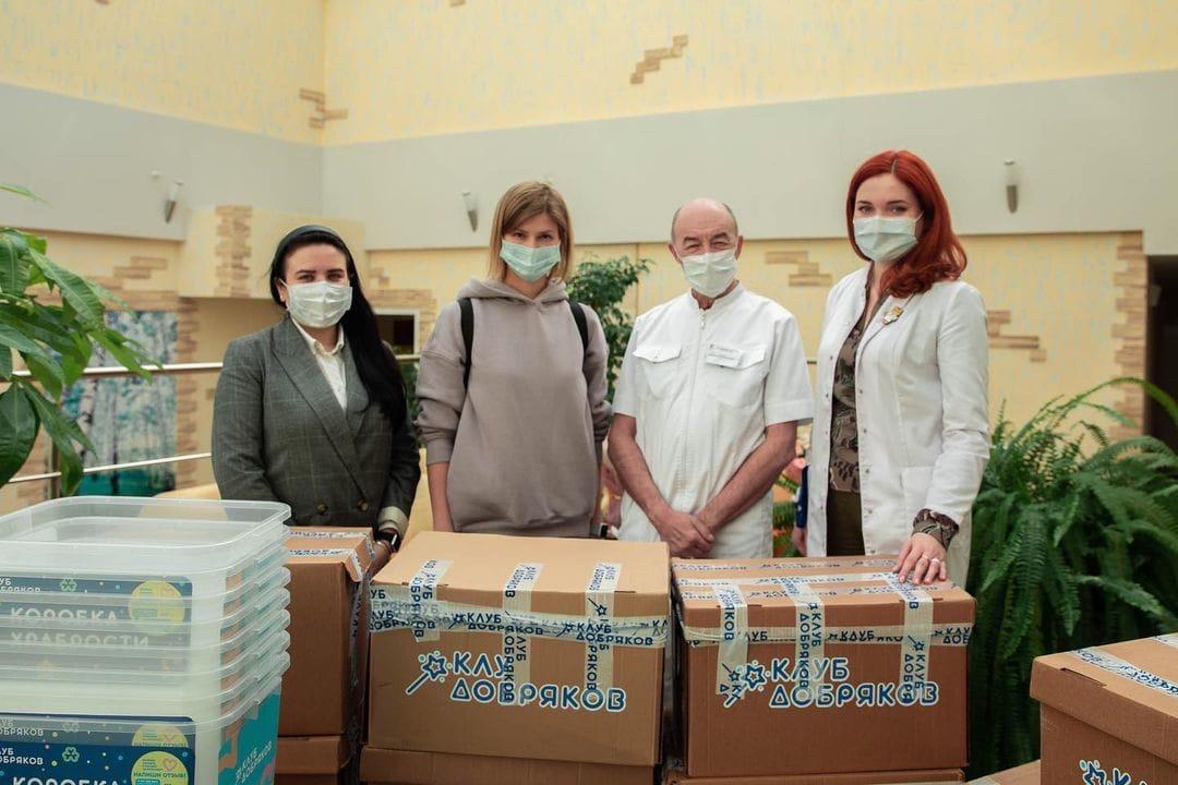Коробки храбрости теперь есть в ФГБУ «НМИЦ трансплантологии и искусственных органов имени академика В.И. Шумакова».