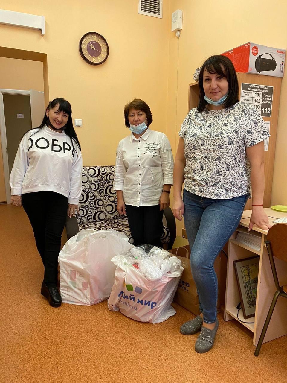 Добряки Ульяновска навестили детей из дома-интерната